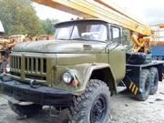 Водитель автовышки ЗИЛ-131